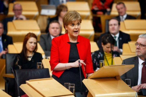 Scottish Parliament suspends debate on second independence referendum in wake of Westminster terror attack