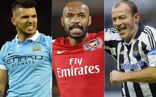 The top 10 Premier League strikers of all time - as chosen by Alan Smith - Telegraph