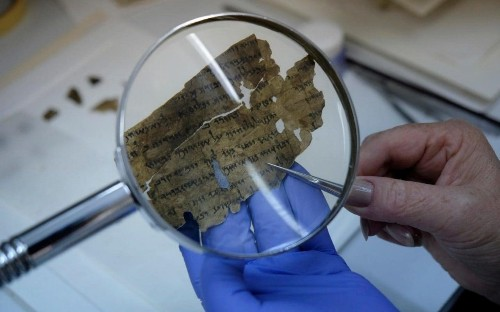 Dead Sea Scrolls manuscript pieced together and deciphered