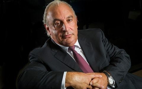 "Sir Philip Green's company faced ""hundreds"" of grievances cases from staff members and the businessman ""grabbed"" women's breasts, claims victim"