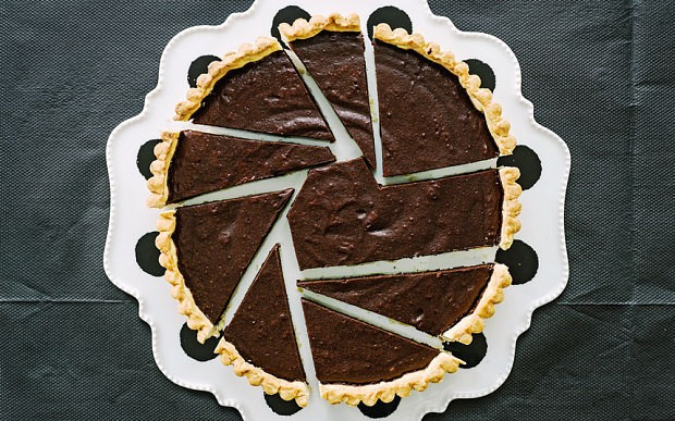 Bitter chocolate tart recipe