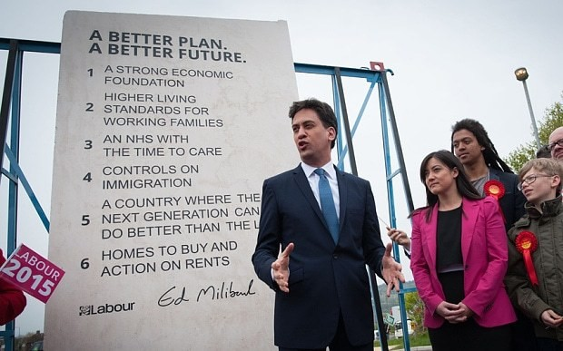 Labour's 'Ed Stone' found hidden at an industrial estate called Westminster