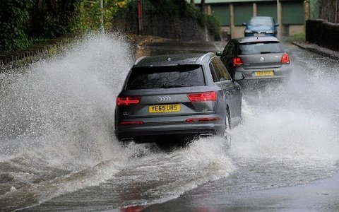 How to drive through standing water and floods (if you really have to)
