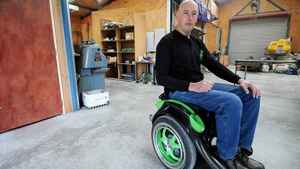 Engineer modifies Segway to invent hands-free wheelchair