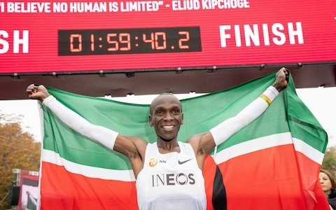 Eliud Kipchoge: from running two miles to school to breaking two-hour marathon time barrier