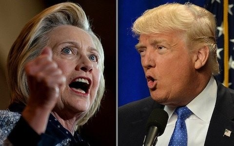 US election: Hillary Clinton six points ahead of Donald Trump in latest poll