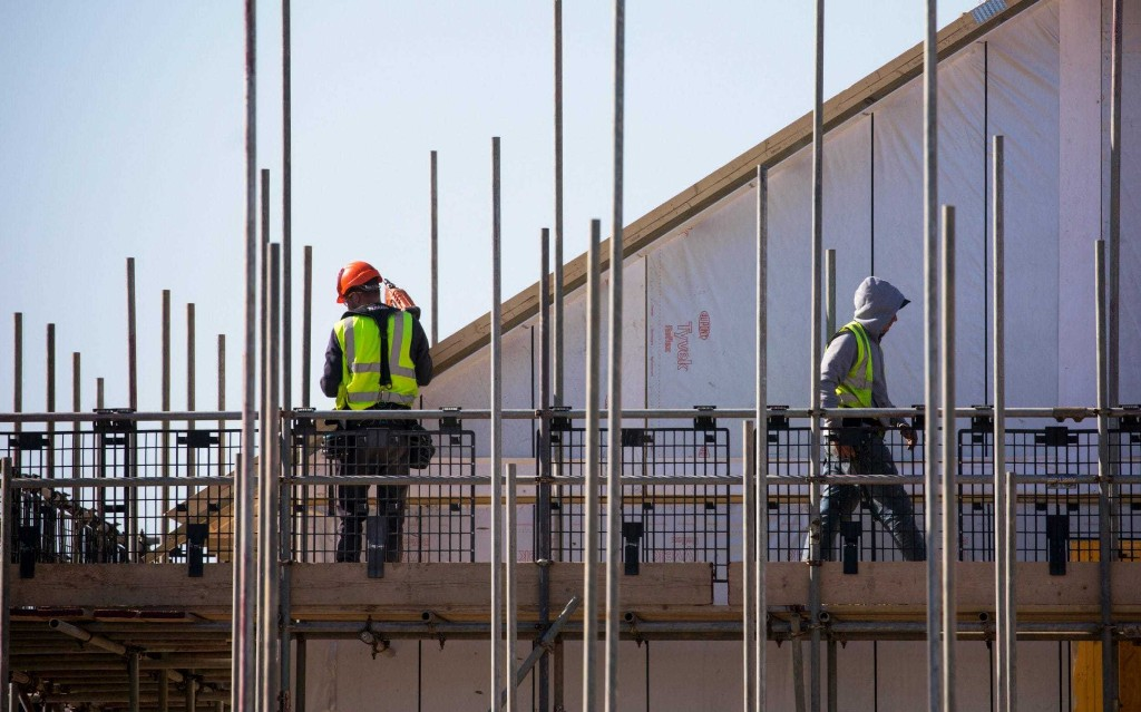 Construction plunges to levels not seen since the financial crisis