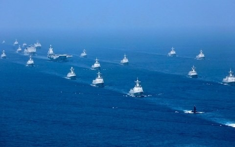 China, Russia and Iran to hold joint naval drills