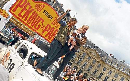Peking to Paris classic car rally 2013: 'Let's make a U-turn and doit all again'
