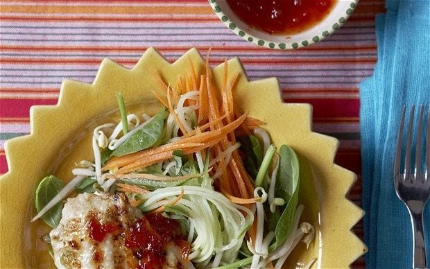 Griddled lime chicken with chilli jam recipe