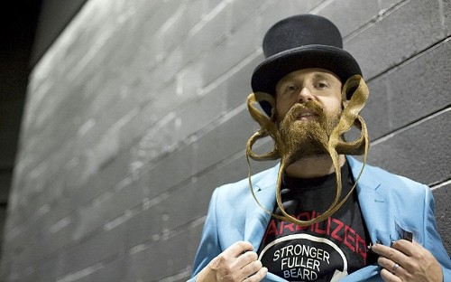 Furry faces: The 2015 US National Beard and Moustache Championships, in pics - Telegraph