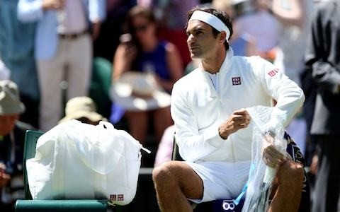 Roger Federer wears Uniqlo at Wimbledon after splitting with Nike - but cannot use his 'RF' clothing logo
