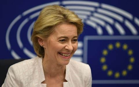 New EU Commission president sets up clash with Boris Johnson as she warns Brexit deal is non-negotiable