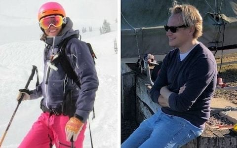 Barclays lawyers killed in avalanche had been skiing 'on marked route', inquest hears