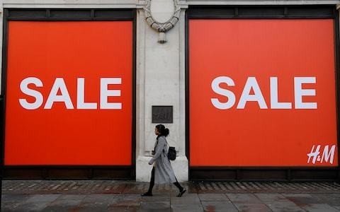 High street misses out on 'Boris bounce' as flat-lining sales add to Bank of England dilemma
