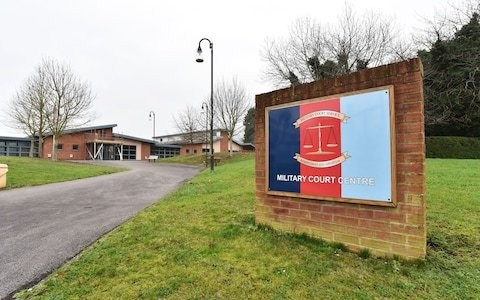 Royal Military Police officer jailed for sexual assault after court martial