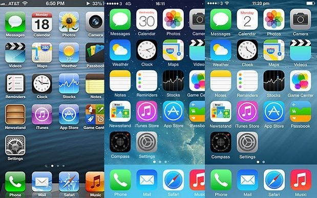 Apple iOS through the ages: in pictures