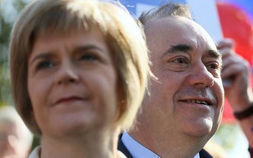 Alex Salmond promises to end 'uncivil war' with Nicola Sturgeon and urges her to focus on indyref2