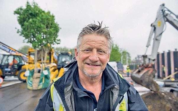 Heroes in hi vis: Meet the builders behind the Chelsea Flower Show gardens