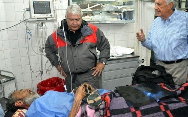 Uruguayan man found in Andes four months after going missing survived on 'rats and raisins'