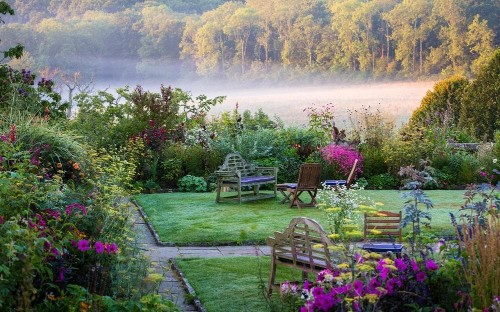 Top 10: the best hotel gardens in England
