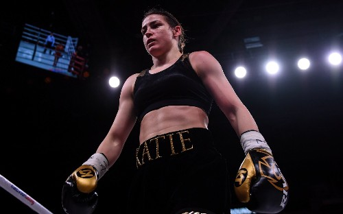 Katie Taylor adds WBO lightweight belt to WBA and IBF titles with dominant win over Rose Volante
