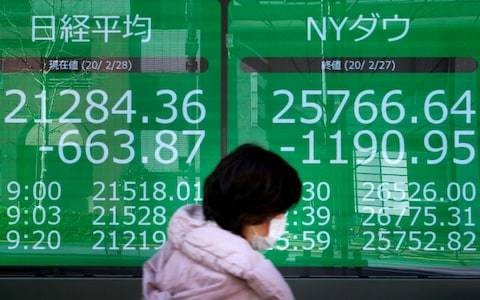 Asian stocks plunge after sharpest drop in US history - latest news