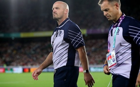 Gregor Townsend stays tight-lipped over future after Scotland's elimination