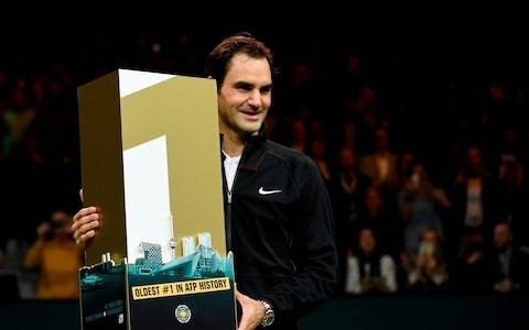 How Roger Federer unseated Andre Agassi to become the oldest world No1