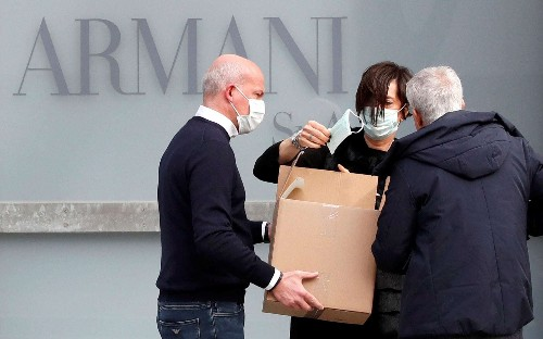 Giorgio Armani cancels Milan Fashion Week show over virus fears