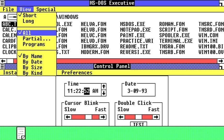Microsoft Windows history: versions through the ages