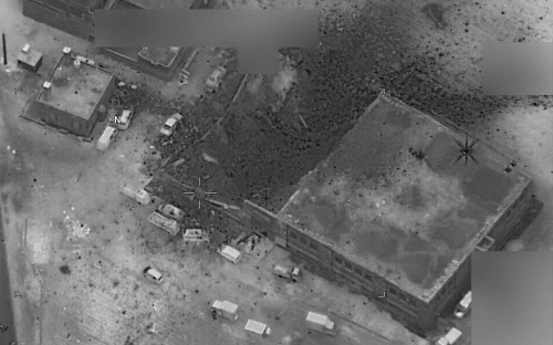US denies targeting Syrian mosque where dozens of people died in airstrike