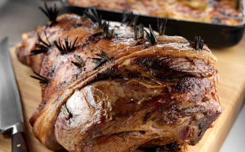 The ultimate roast lamb