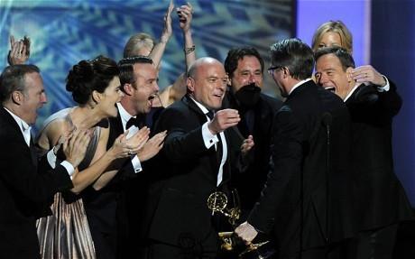 Breaking Bad creator Vince Gilligan thanks fans at Emmys 2013