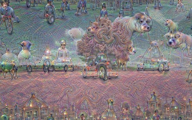 Google unleashes machine dreaming software on the public, nightmarish images flood the internet