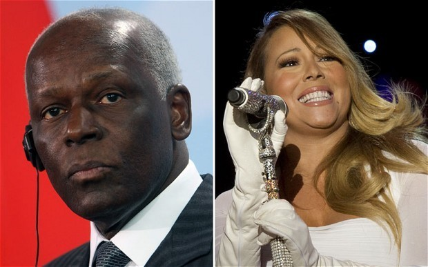 Mariah Carey criticised for Angola president performance