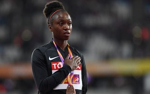 Tianna Bartoletta criticises own sponsor Nike over response to Mary Cain's Alberto Salazar 'abuse' claims