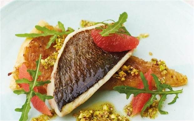 My favourite dish: Nathan Outlaw's sea bream with chicory tart