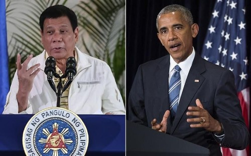 Barack Obama meets Philippine leader Rodrigo Duterte briefly despite insults