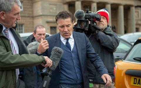 Dean Saunders was jailed for saying he was too busy watching football to do community service, court hears