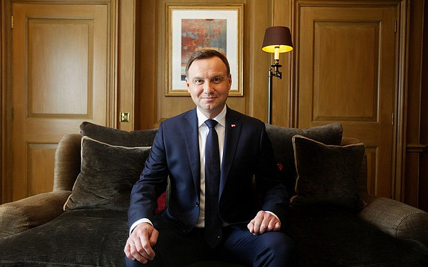I see 'eye-to-eye' with Cameron on EU, says Poland's new president