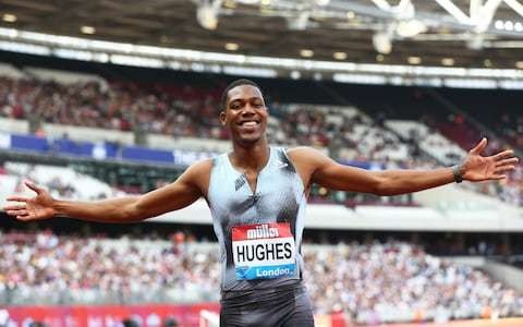 'I believe I can run 9.8, possibly a 9.7': Zharnel Hughes out to end British men's World Championship 100m medal drought