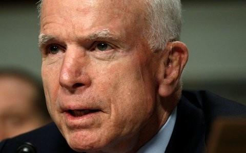 Donald Trump administration in 'disarray', Senator John McCain tells Europe