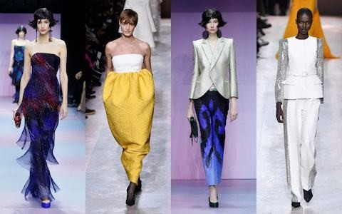 Givenchy and Giorgio Armani Prive make the case for the return of trousers
