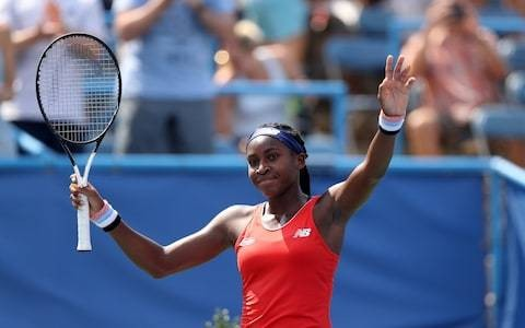 Cori Gauff continues remarkable rise at Washington Open