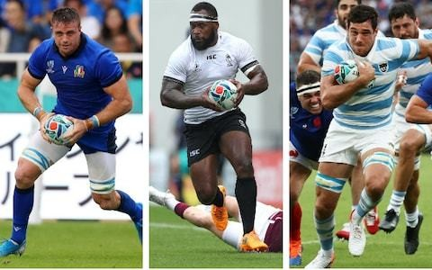 Will Greenwood's Rugby World Cup XV from teams knocked out at pool stage