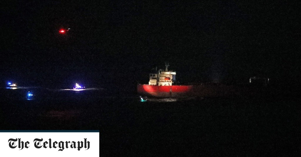Monday morning news briefing: Special Forces end ship standoff off Isle of Wight