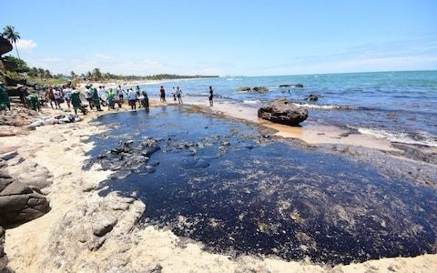 Brazil deploys 5,000 troops as fury mounts at inaction over worst oil spill in country's history