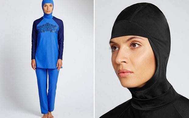 France says Marks and Spencer burkini 'irresponsible'