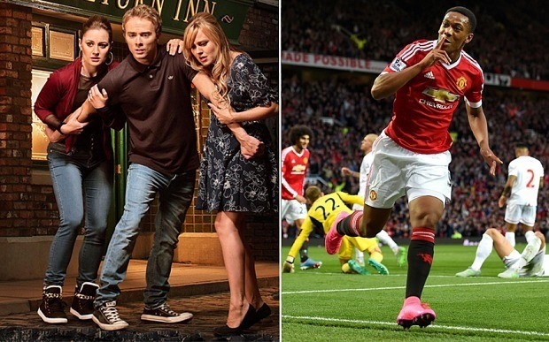 Coronation Street Live could be disrupted by Manchester United noise